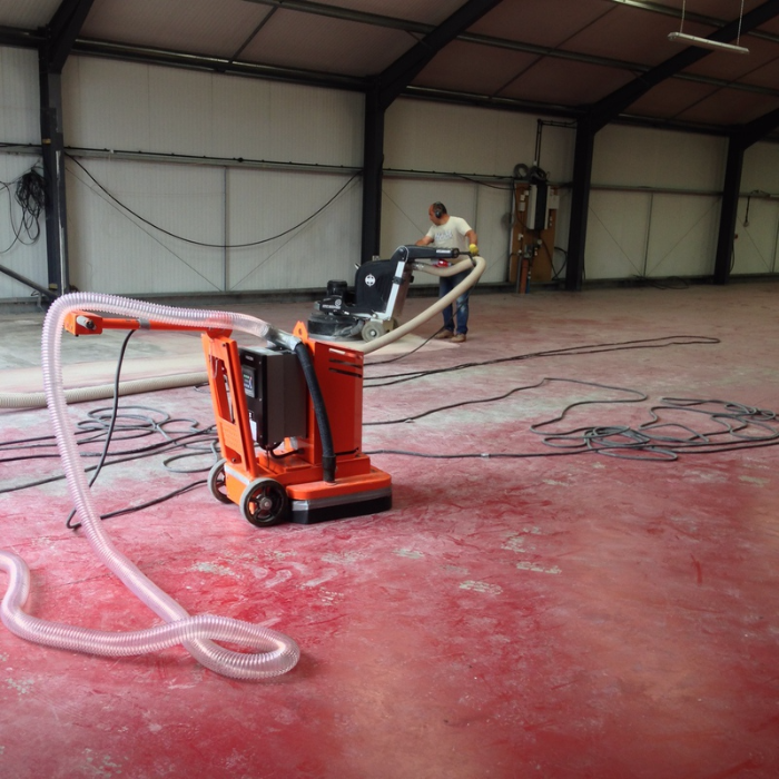 Delightful Floor Paint Removal Is Easy With The Right Equipment!